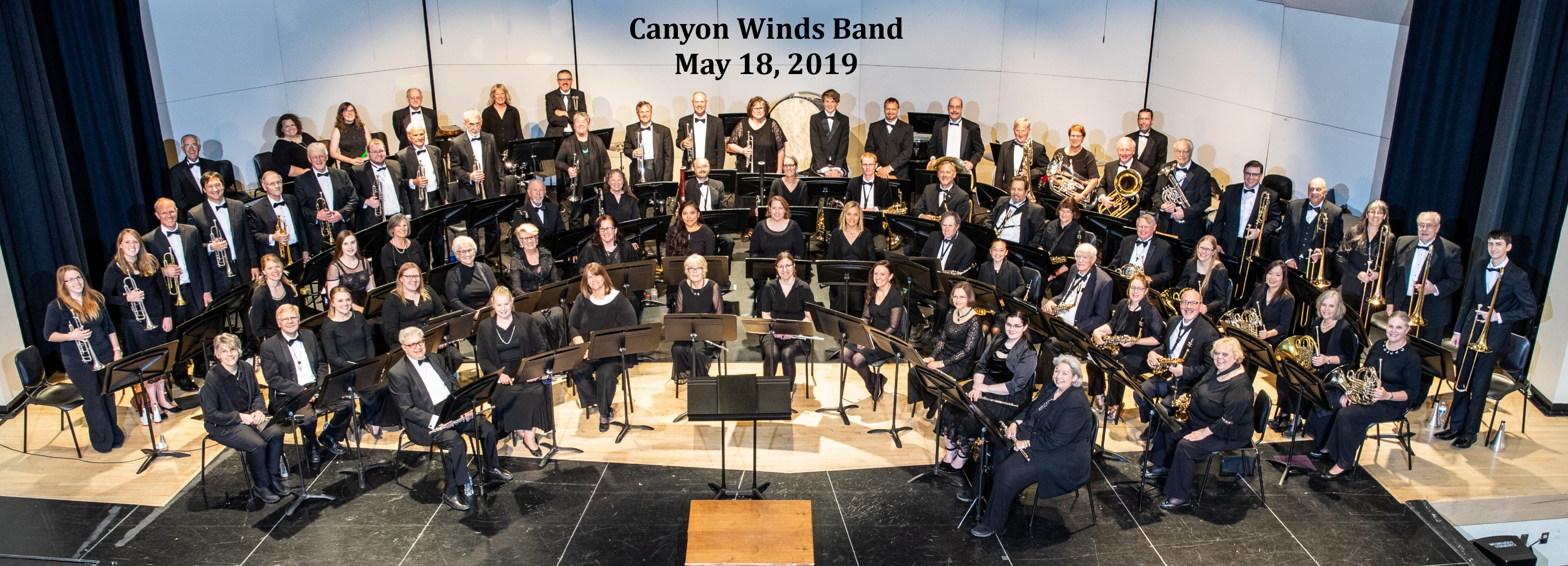 Canyon Winds Personnel from May, 18, 2019  Concert